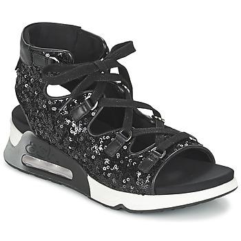 Shoes Women Sandals Ash LIV Black