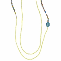 Watches & Jewellery Women Necklaces Zaza Factory INDIEN Yellow