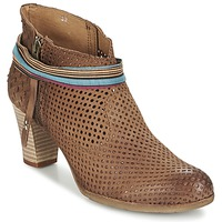 Shoes Women Ankle boots Felmini OMESSIO Brown