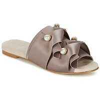 Shoes Women Mules KG by Kurt Geiger NAOMI Taupe