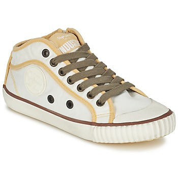 Shoes Women Low top trainers Pepe jeans INDUSTRY Beige / Brown / Yellow