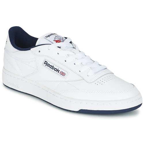rojo emoción suma  Reebok Classic CLUB C 85 White / Blue - Fast delivery | Spartoo Europe ! -  Shoes Low top trainers 79,95 €