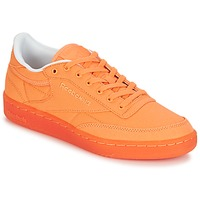 Shoes Women Low top trainers Reebok Classic CLUB C 85 CANVAS Orange