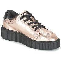 Shoes Women Low top trainers TUK CASBAH CREEPERS Pink / Metallic