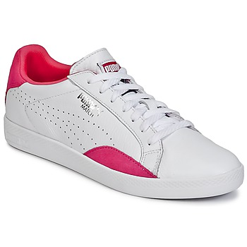 Shoes Women Low top trainers Puma WNS MATCH LO BASIC.W White / Violet