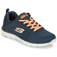 Shoes Women Trainers Skechers Flex Appeal 2.0 Break Free Charcoal