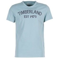 material Men short-sleeved t-shirts Timberland SS KENNEBEC RIVER TBL 1973 TEE Blue / Clear