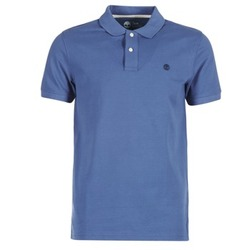 material Men short-sleeved polo shirts Timberland SS MILLERS RIVER PIQUE REG POLO Blue