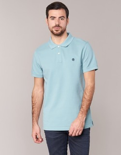 material Men short-sleeved polo shirts Timberland SS MILLERS RIVER PIQUE REG POLO Blue / Clear