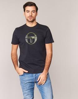 material Men short-sleeved t-shirts Sergio Tacchini DAVE TEE-SHIRT Black