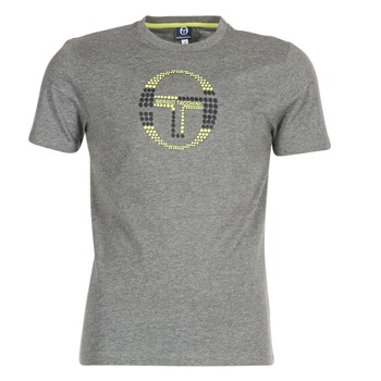 material Men short-sleeved t-shirts Sergio Tacchini DAVE TEE-SHIRT Grey