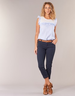 material Women cropped trousers Best Mountain ROSIMALI Marine
