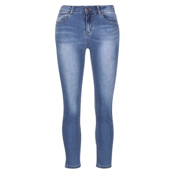 material Women slim jeans Best Mountain ROSEPELLE Blue / MEDIUM