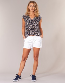 material Women Shorts / Bermudas Best Mountain ROSAVOULI White