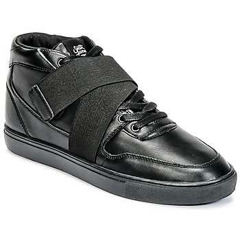 Shoes Men High top trainers Sixth June NATION STRAP Black