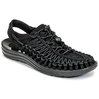 Shoes Men Sports sandals Keen UNEEK Black