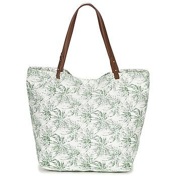 Bags Women Shopper bags Petite Mendigote CLEA ECRU / KAKI