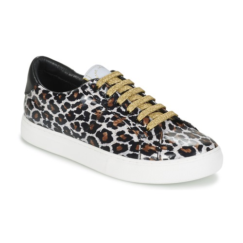 Shoes Women Low top trainers Marc Jacobs EMPIRE LACE UP Leopard