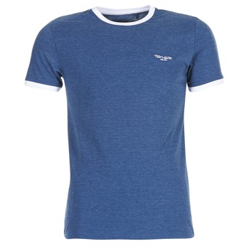 material Men short-sleeved t-shirts Teddy Smith THE TEE Blue