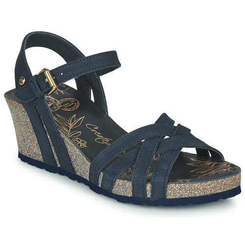 Shoes Women Sandals Panama Jack VERA Blue