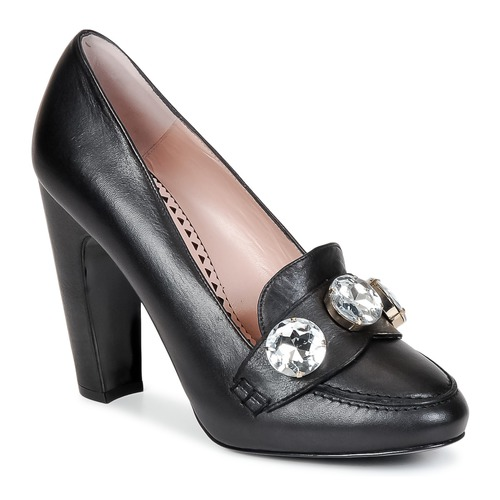 Shoes Women Court shoes Moschino Cheap & CHIC STONES Black