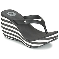 Shoes Women Flip flops Zaxy LIPSTICK V Black / White