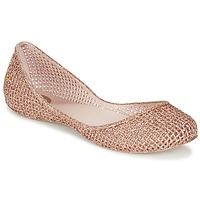 Shoes Women Ballerinas Zaxy AMORA Pink / Metallic