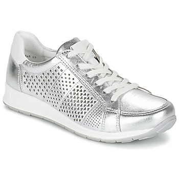 Shoes Women Low top trainers Ara CHEVOK Silver