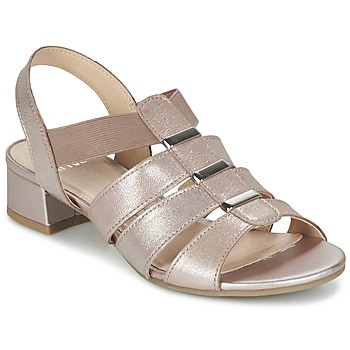 Shoes Women Sandals Caprice RIJOULE Pink / Metallic