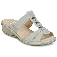 Shoes Women Mules Caprice VILIALE Grey
