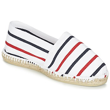 Shoes Espadrilles 1789 Cala CLASSIQUE White / Blue / Red