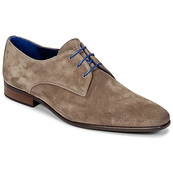 Shoes Men Derby shoes Azzaro JOSSO TAUPE