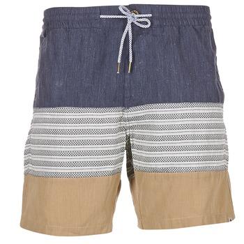 material Men Shorts / Bermudas Volcom THREEZY JAMMER Marine / Beige / Grey
