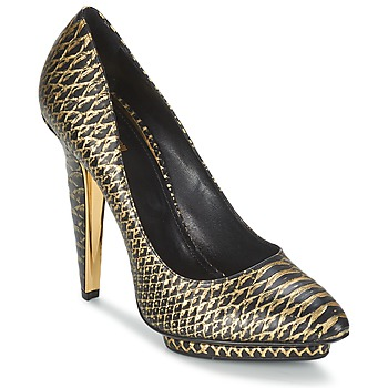 Shoes Women Court shoes Roberto Cavalli YDS622-UC168-D0007 Black / Gold