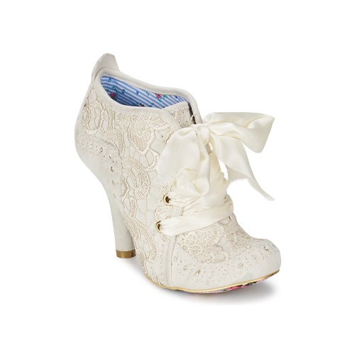 04fee07970bf Shoes Women Low boots Irregular Choice ABIGAILS THIRD PARTY White   Cream