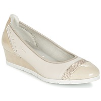 Shoes Women Ballerinas Dorking DESEO BEIGE