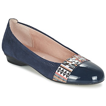 Shoes Women Ballerinas Dorking TELMA Marine