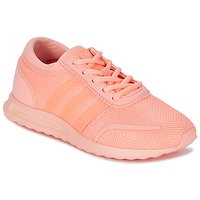 Shoes Girl Low top trainers adidas Originals LOS ANGELES J Coral