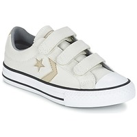 Shoes Boy Low top trainers Converse STAR PLAYER 3V TEXTILE OX ECRU / KAKI