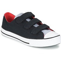 Shoes Boy Low top trainers Converse CHUCK TAYLOR ALL STAR 3V SPRING FUNDAMENTALS OX Black / Blue / White