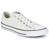 Shoes Women Low top trainers Converse CHUCK TAYLOR ALL STAR SNAKE WOVEN OX ECRU