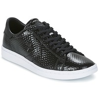 Shoes Women Low top trainers Converse CONS SNAKE SKIN OX Black / White