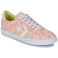 Shoes Women Low top trainers Converse BREAKPOINT FLORAL TEXTILE OX Pink / White