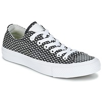 Shoes Women Low top trainers Converse CHUCK TAYLOR ALL STAR II FESTIVAL TPU KNIT OX Black / White