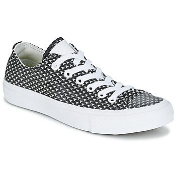 Shoes Women Low top trainers Converse CHUCK TAYLOR ALL STAR II FESTIVAL TPU  KNIT OX Black 2c4c366c00bfd