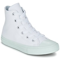 Shoes Girl High top trainers Converse CHUCK TAYLOR ALL STAR II PASTEL SEASONAL TD HI White / Blue / SKY
