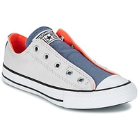 Shoes Children Low top trainers Converse CHUCK TAYLOR ALL STAR SLIP SUMMER FUNDAMENTALS SLIP Grey / Blue / Orange