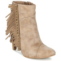 Shoes Women Ankle boots LPB Shoes CECILIA Beige