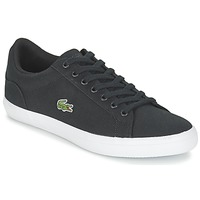 Shoes Men Low top trainers Lacoste LEROND BL 2 Black