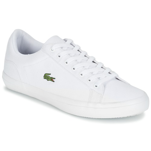 Shoes Men Low top trainers Lacoste LEROND BL 2 White